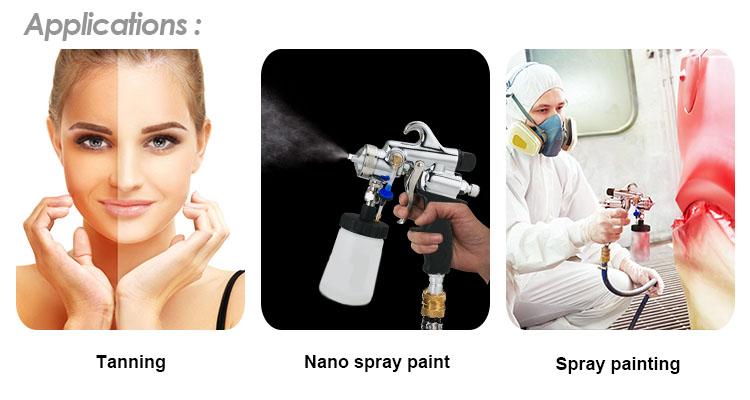HVLP Spraying System Applications