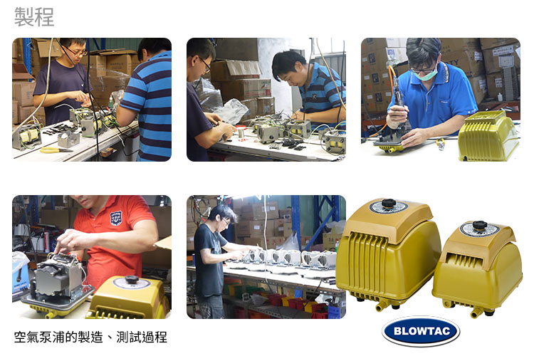 Linear Air Pumps production line