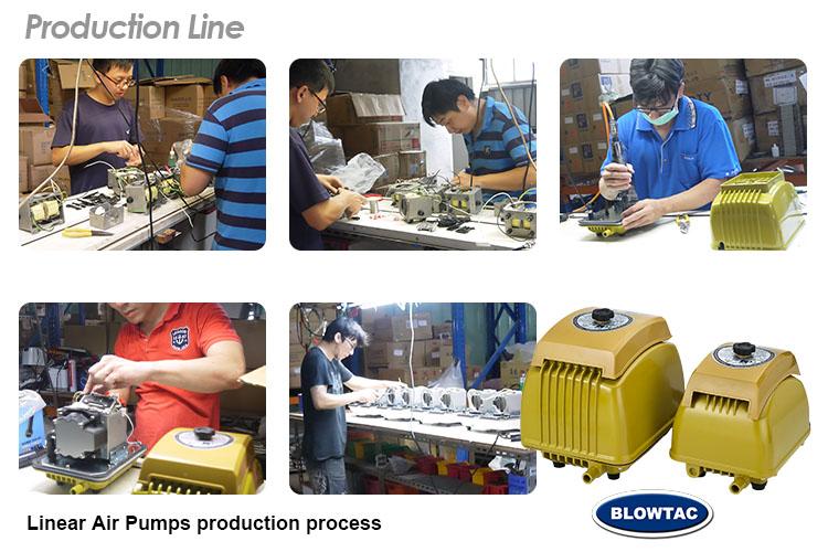 Linear Air Pumps production line