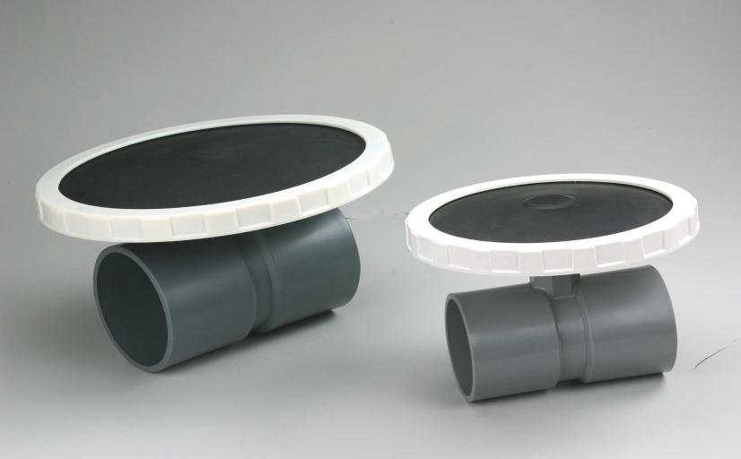 曝氣盤及三通接頭