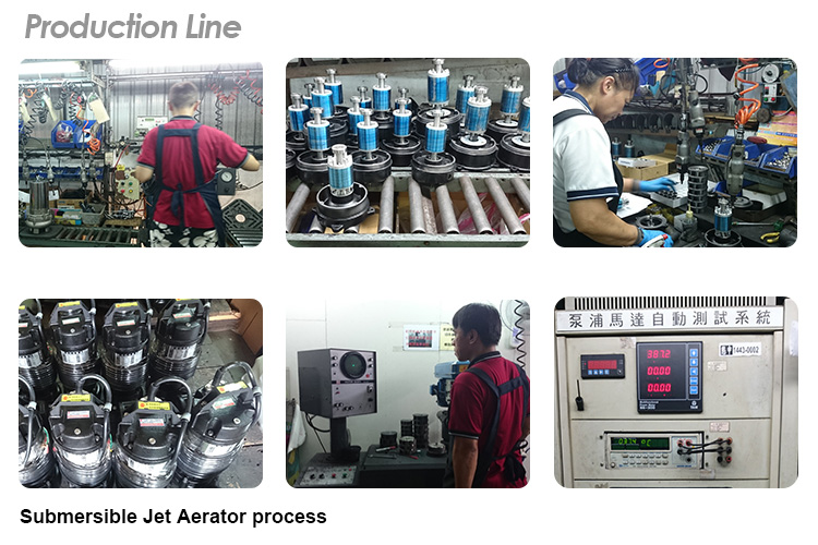 Submersible Jet Aerator production line