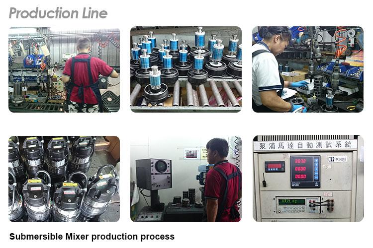 Submersible Mixer production line